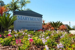Marymount sign